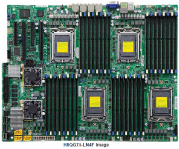 Supermicro H8QGi-LN4F Motherboard by SCE Server Components Europe AG